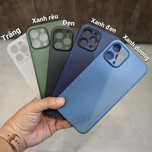 Ốp lưng iPhone 12 Promax - Memumi siêu mỏng 0.3mm